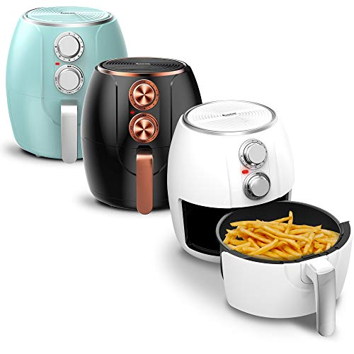 TurboTronic Hot Air Fryer, 3 Litres, Timer up to 30 Minutes, 1200 W, Oil...