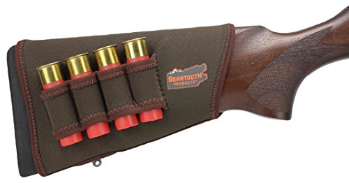 Beartooth StockGuard 2.0 - Premium Neoprene Gun Stock Cover - Shotgun Model in Brown (Right-Handed)