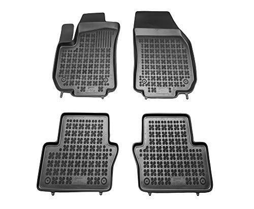 Alfombrillas de Goma Compatible con Opel Zafira B II (2005-2014) + Limpiador de Plasticos (Regalo) | Accesorios Coche Alfombrilla Suelo