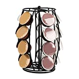 Coffee Pod Holder Carousel Storage,K Cup Holder Compatible with 20 Pods,Coffee Pod Storage for Office and Kitchen Organization