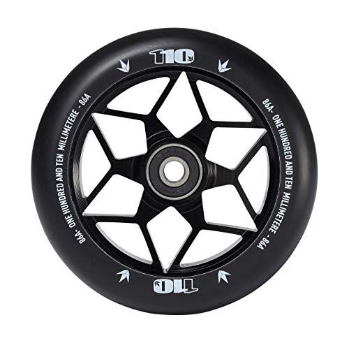 Blunt - Diamond 110mm noir abec 9 - Roue de trottinette - Noir - Taille Unique