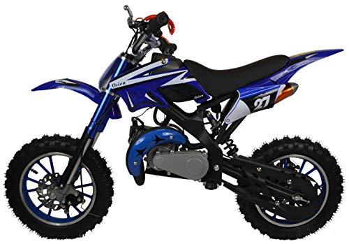 Zipper 50cc Petrol Mini Kids Dirt Motorbike - Blu