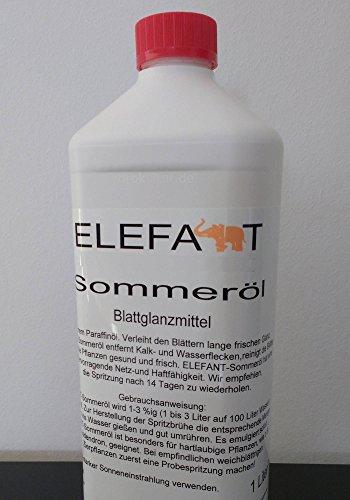 Elefant Sommeröl Blattglanz, Elefantöl