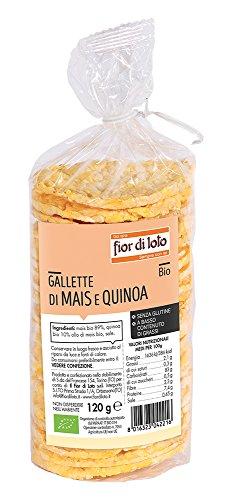Fior di Loto Gallette Mais e Quinoa Bio - 120 g