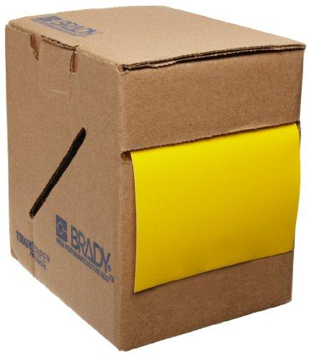 Brady ToughStripe Floor Marking Tape - Yellow, Non-Abrasive Tape - 2' Width, 100' Length - 104312