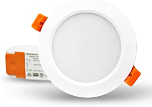 Tuya ZigBee 3.0 RGBW 3.5 inch Recessed Retrofit Downlight 12W LED Dimmable Fixture Ceiling Light,Alexa Echo PlusHome Autom...