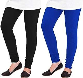 Swastik Stuffs Woolen Leggings Combo Offer for Women |Churidar Woolen Leggings| Winter Wear Warm Leggings Combo Pack (Free...