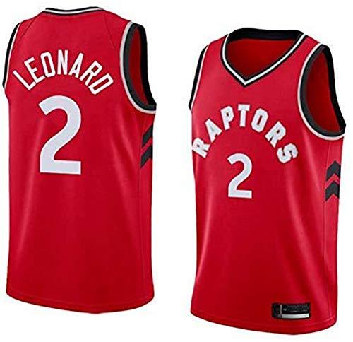 TGSCX NBA Basketbal mannen trui Toronto Raptors 2# Leonard Jersey Breath geborduurde basketbal Swingman Jersey