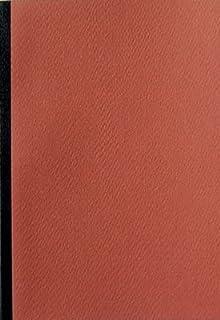 ショウエイドー A6ノート A6(48枚)5色ノート横罫5冊セット (さび)