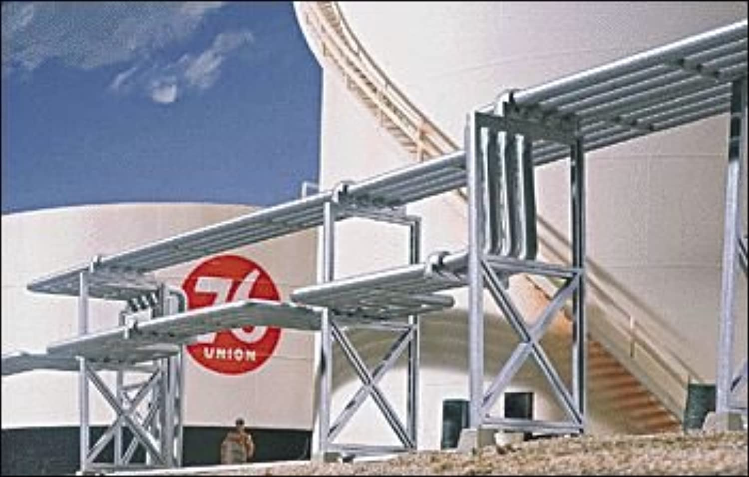Walthers Cornerstone Series Kit HO Scale Refinery Piping Kit