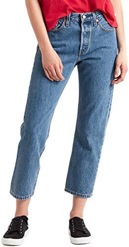 Levi's Damen 501 Crop Jeans, Lost Cause, W/W / 28W / 28L