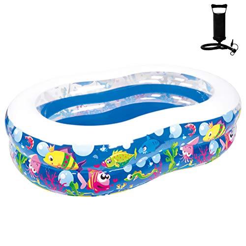 Huishoudelijke Kids Opblaasbare Badkuip Portable Summer Speelgoed Voor 1 Jaar Oud Pools Voor Peuters,175 * 109 * 46cm