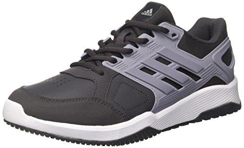 adidas Duramo 8 Trainer M, Scarpe da Ginnastica Uomo, Multicolore (Utility Black/Mid Grey/Ftwr White), 42 2/3 EU