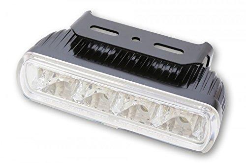 LED-Tagfahrlicht m. 4 LEDs, rechteckig, E-gepr.