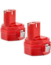 マキタ 12vバッテリー 3000mAh互換バッテリー マキタPA12 1250 1235 1235B 1235F 1234 1233 1222 1220 1202対応互換品 ニッケル水素バッテリー 2個セット