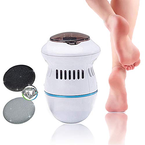 Foot Hard Skin Remover, Electric Callus Remover Foot Files Pedicure Tools...