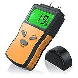 CSL - Feuchtigkeits Detector Feuchtigkeitsmessgerät Feuchtigkeitsmesser für Holz - inkl.