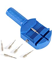 De handleiding voor horlogeherstellers Watch Band Strap Link Aanpassing Remover Reparatie Tools Split Tafel Tool Transfer Tabel Apparaat en vijf pinnen horloge reparateurs handleiding gebakken