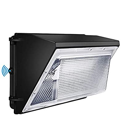 120W LED Wall Pack with Photocell - Dusk to Dawn Outdoor Wall Light 840W HPS/HID Equivalent 5000K 16940Lm LED Flood Light Commercial and Industrial LED Lights for Parking Lots|Apartments|Warehouses