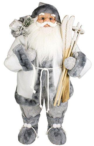 LD decorazioni di Natale Babbo Natale Jacob–Figura Decorativa Natale & Advent Nikolaus ca. 60cm di altezza