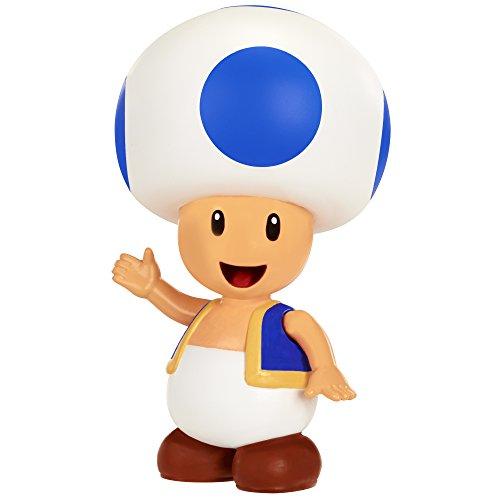 Nintendo Figurine Toad avec pièce à Collectionner