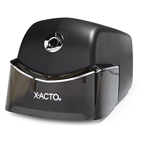X-ACTO Quiet Electric Pencil Sharpener, Black