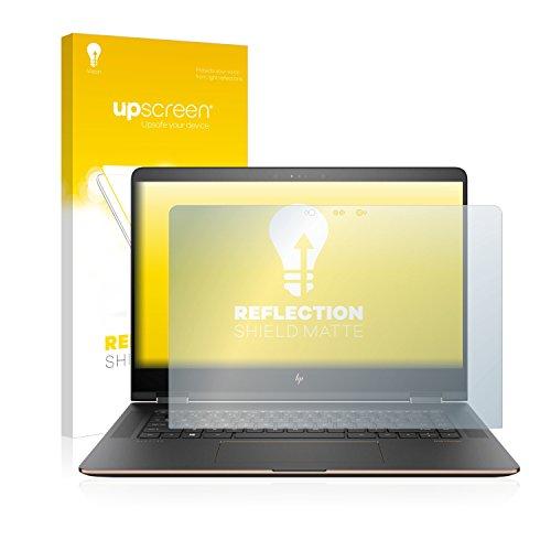 upscreen Entspiegelungs-Schutzfolie kompatibel mit HP Spectre x360 15-bl101ng – Anti-Reflex Bildschirmschutz-Folie Matt