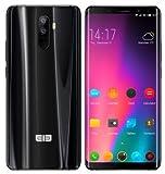 ELEPHONE U Smartphone Libre (Ultra Delgado) - Octa-Core 6GB RAM +128GB ROM,5.99' FHD+ Pantalla Curva...