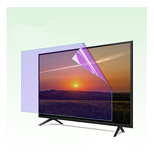 AMDHZ Adecuado para LCD, LED, 4K OLED y QLED y Pantalla Curva, Luz Azul Anti Protector de Pantalla, Fácil de Montar Anti reflejante, Ojos previenen la miopía