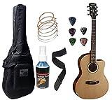 Cort Electro Acoustic Guitar JADE1E - With Sponge Bag, Belt, String Set, String Winder & Plectrums...