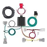 CURT 56349 Vehicle-Side Custom 4-Pin Trailer Wiring Harness, Select Toyota Tacoma