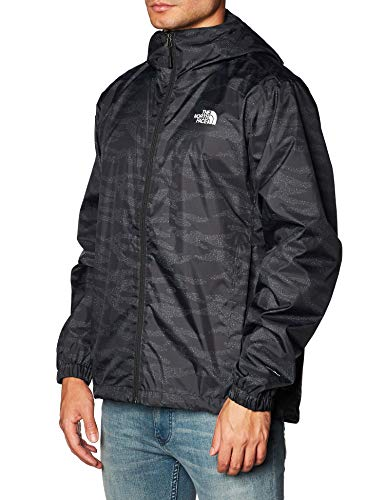 THE NORTH FACE Herren Shelljacke Quest A8AZ TNF Black Dewdrop 2 Print M