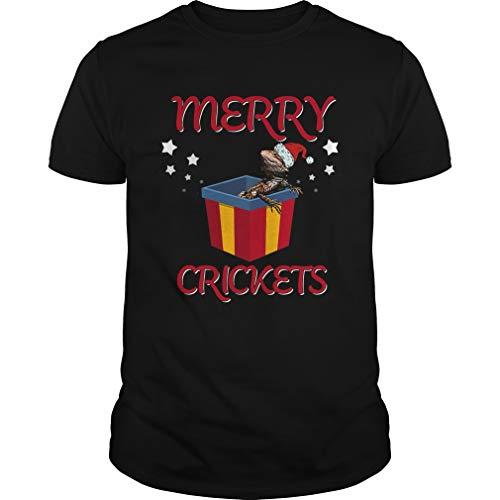 Merry.Crickets Shirt - Front Print T-Shirt For Men and Women