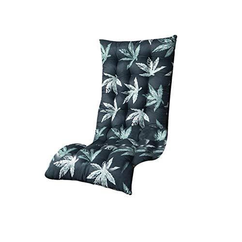 Coussin De Chaise Relaxante Inclinable - Coussins De Chaise Longue De Jardin De Remplacement Épais Pour Fauteuil Inclinable Extérieur Intérieur - Sans Chaises (125 50 12cm)