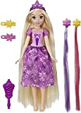 Disney Princess Hair Style Creations Rapunzel Fashion Doll, Hair Styling Toy with Brush