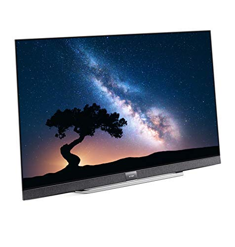 METZ Blue DS9A63A 55 Zoll Smart 4K UHD Fernseher, Android 9.0, 6 Lautsprecher, Triple Tuner, Video, Netflix, YouTube (HDMI, CI-Slot, USB, digital Audio)