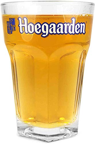 1 bicchiere Hoegaarden (mezza pinta)