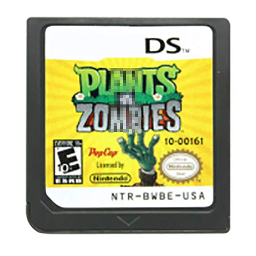 Game Card for Plants vs Zombies DS , Classic Game Card Compatible with DS 2DS 3DS DSI 2DSXL 3DSXL, (Not Support Above Version 11.0), US Reproduction Version