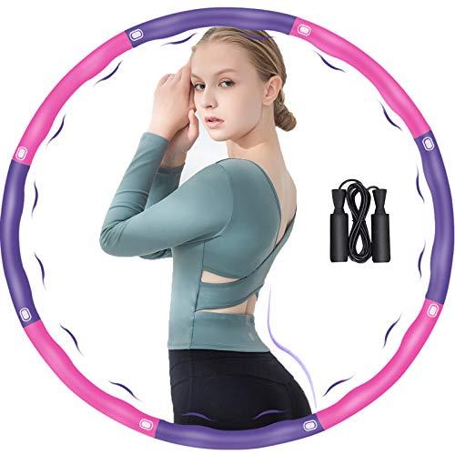 DUTISON Aro para adultos, fitness, fitness, adultos, 6-8 segmentos, desmontable y tamaño...