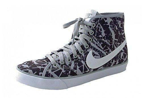 Nike Damen WMNS Primo Court MID CVS Print 705527-010 Wolf Grey-Black, Damen Größen:38;Farben:grau