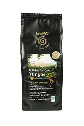 GEPA Bolivien Bio Cafe Yungas, 1er Pack (1 x 250 g Packung)