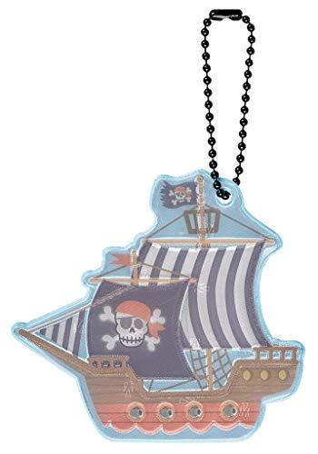 Moses Jungen Glimmis Reflektor Piratenschiff | Beidseitig Reflektierend Anhänger Glimmis Reflektor Piratenschiff | Beidseitig reflektierend Anhänger, bunt, Einheitsgröße
