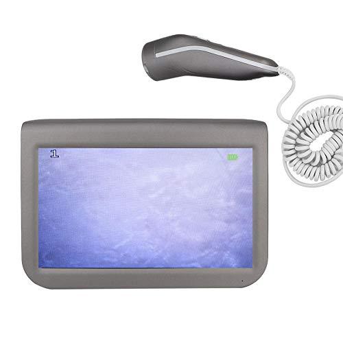 Détecteur de cuir chevelu de peau 50X 200X, analyseur de santé de peau de 10,1 pouces Détecteur de follicule pileux Instrument de soin de la peau avec