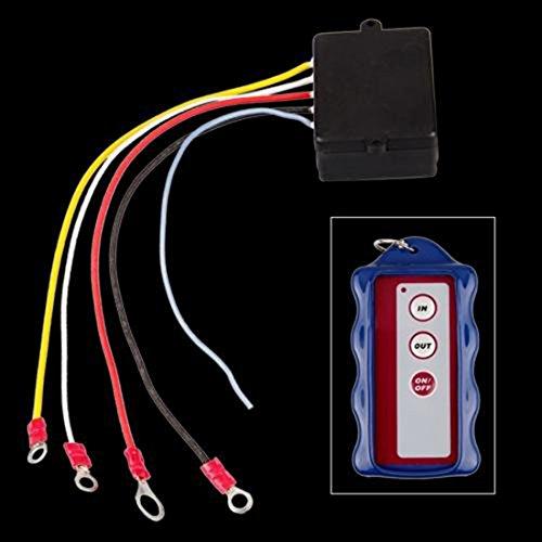 lovelifeast Kit de télécommande sans fil pour camion Jeep ATV Treuil Sans Fil 12 V voiture camion automatique
