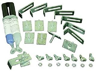 Vance Industries QNUMSG 8-pack Undermount Studs, Rectangle with Epoxy Glue