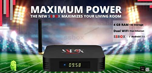 Arabic, USA and International Channels IPTV Box 5000+ Channels 8K.