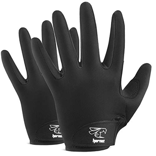 Full Finger Black Rowing Gloves with Non-Slip Grip Ideal for Paddling, Sailing, Fishing, Kayaking, Boating and More )
