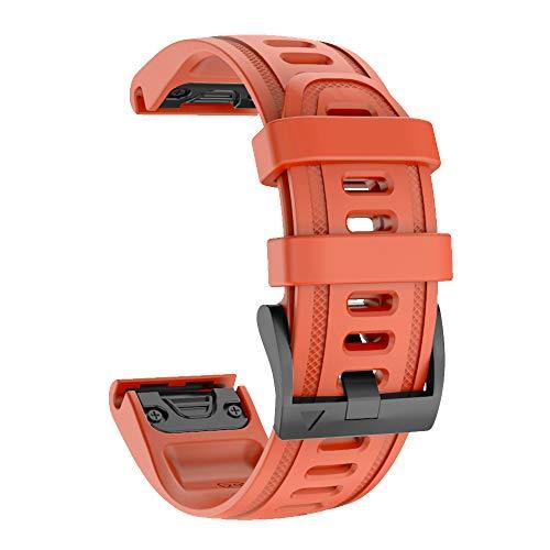 ISABAKE Cinturino per Garmin Fenix 6s PRO,20mm Cinturini per Orologi Sportivi Quick-Fit compatibili con Garmin Fenix 5S / Fenix 5s Plus/Fenix 6S PRO D2 Delta S