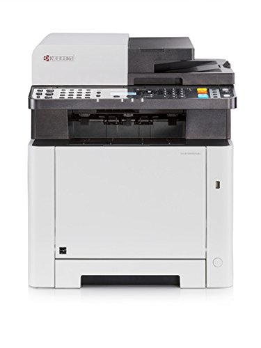 KYOCERA ECOSYS M5521cdw Laser A4 WiFi Color Blanco - Impresora multifunción (Laser, Colour Printing, Colour Copying, Colour scanning, Colour faxing, 30000 páginas por Mes)