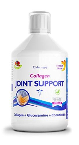 Premium Liquid Joint Support 6000 mg Komplex aus Collagen, MSM, Glucosamine, Chondroitinsulfat